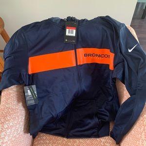 Denver Broncos Nike NFL On-field hoodie L NWT